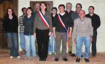 Equipe municipale Chevret Girard