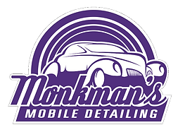 Monkman mobile detailing logo