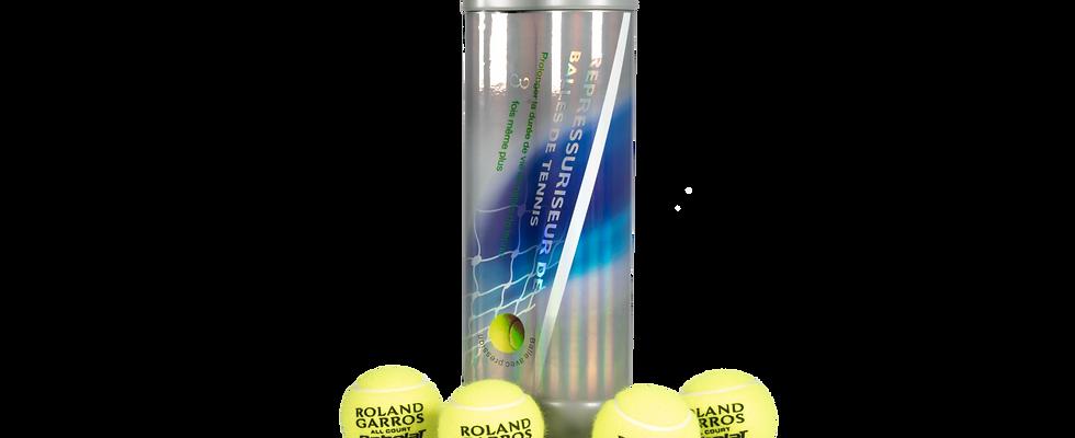 Tennis and padel ball repressurizer