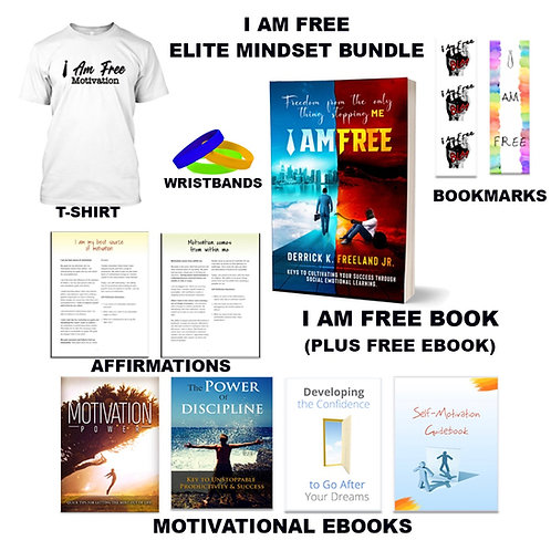 I Am FREE Elite Mindset Motivation bundle