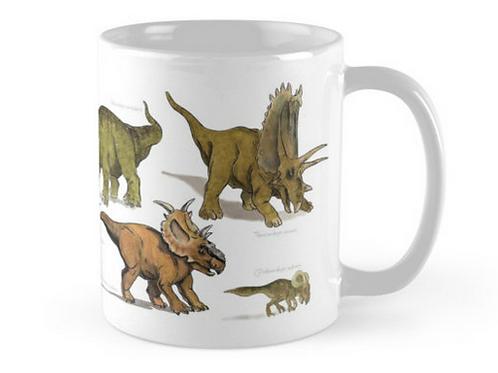 Triceratops and Gang Mug