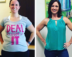 Sweatmood Santa Rosa weight loss program goals before after Allison
