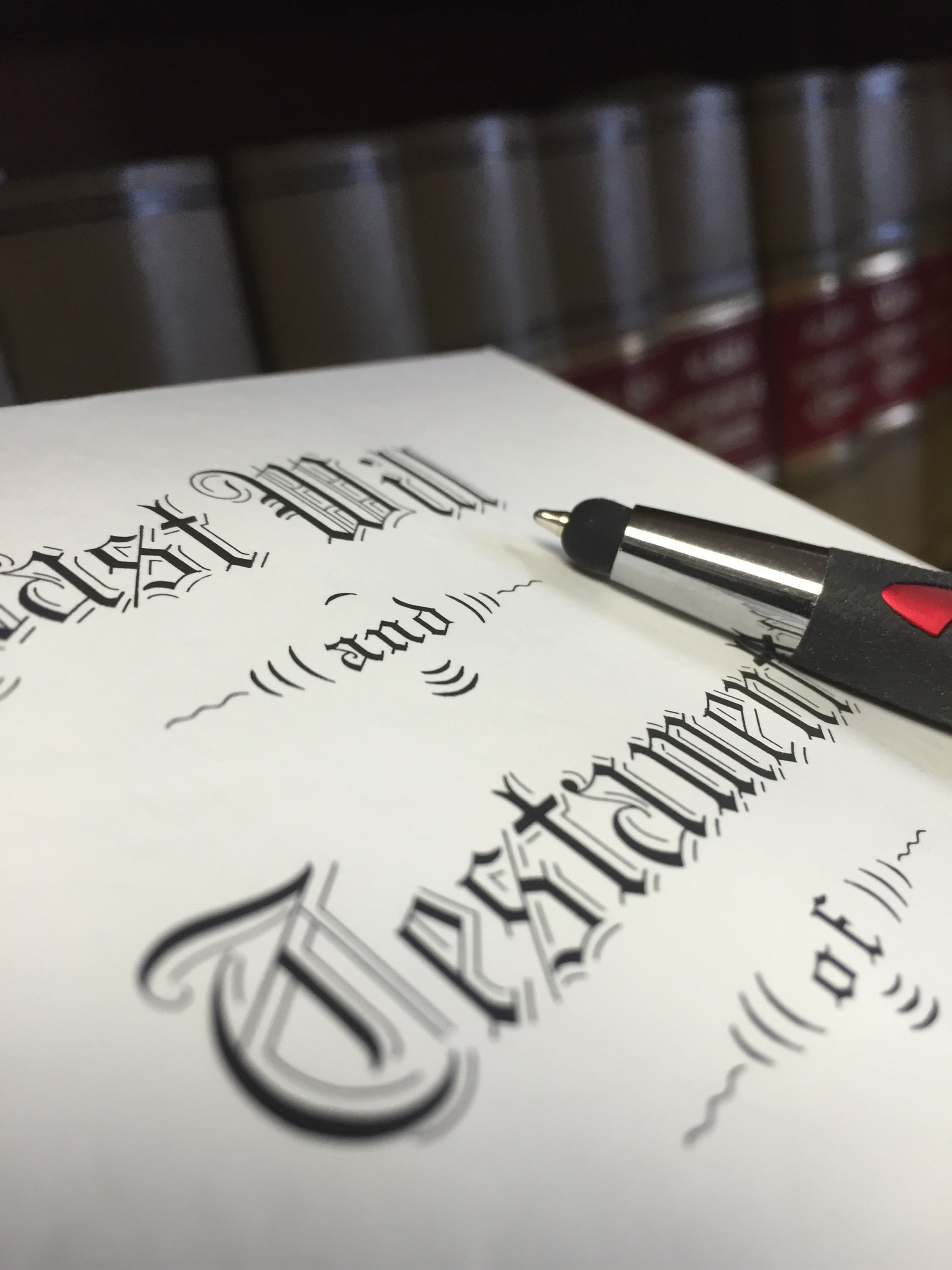 WILLS AND CONTRACTS