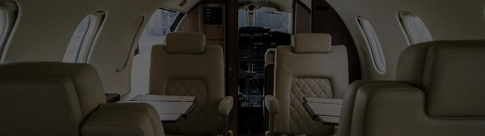 interior de aviones y jets