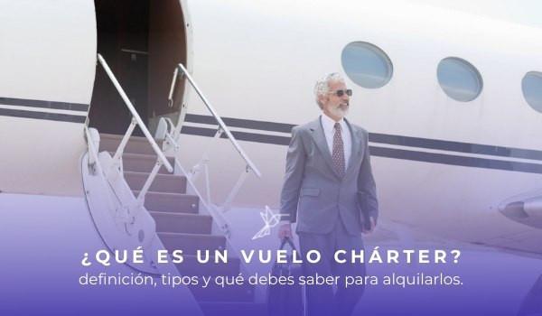 que es un vuelo charter