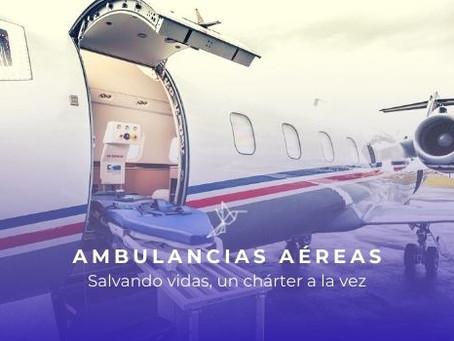 7 puntos importantes sobre el servicio de Ambulancias Aéreas