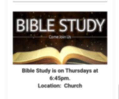 Bible study location