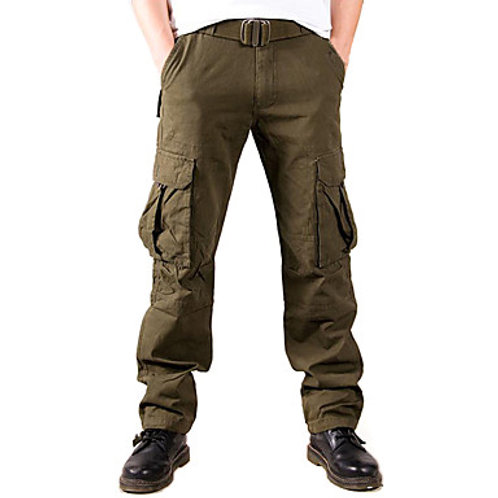 Men's Hiking Pants Hiking Cargo Pants Outdoor Breathable Comfortable Anti-tear D