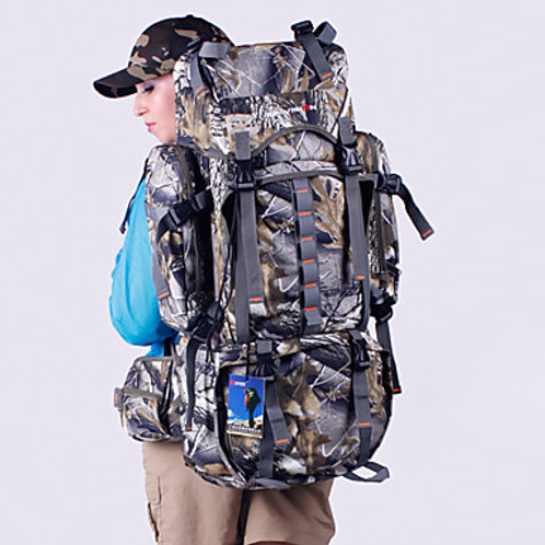 80 L Hiking Backpack Rucksack Military Tactical Backpack Waterproof Rain Waterpr