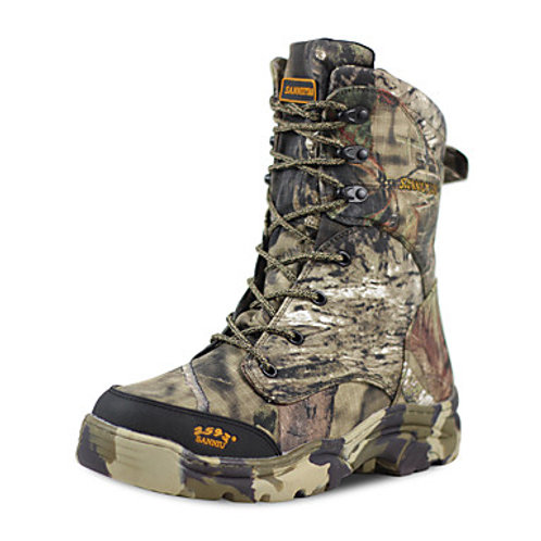 Men's Hiking Shoes Hunting Shoes Hiking Boots Waterproof Windproof Breathable Ra