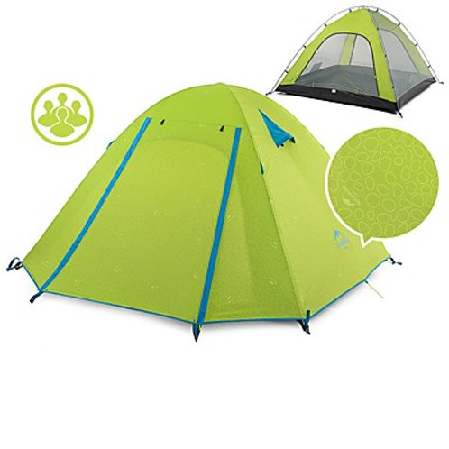Naturehike 4 person Backpacking Tent Outdoor Portable Windproof Well-ventilated
