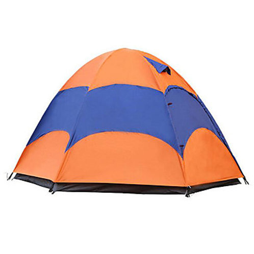 Sheng yuan 4 person Tent with Mosquito Net Outdoor Waterproof Breathability