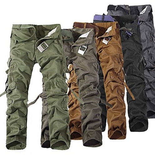 Men's Hiking Pants Hiking Cargo Pants Outdoor Windproof Breathable Comfortable W