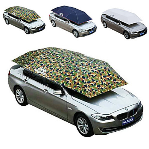 Car Tent Anti-UV Roof-Top Tent Sun Shelter Outdoor Windproof Rain Waterproof Bre