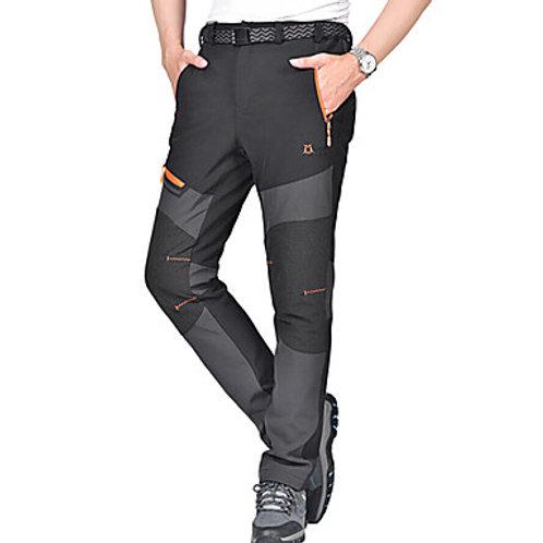Men's Hiking Pants Softshell Pants Outdoor Waterproof Thermal / Warm Windproof W