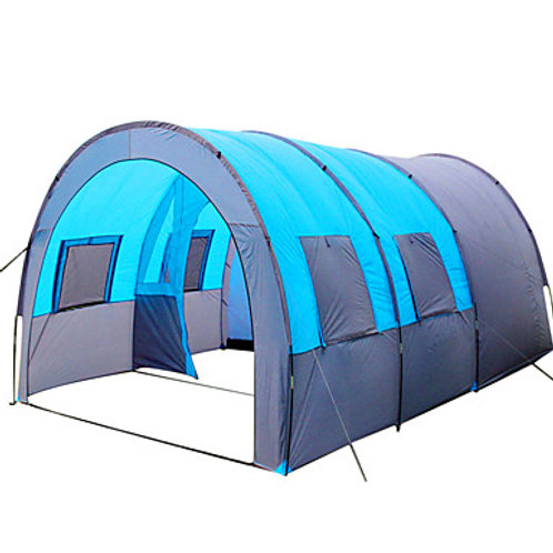 8 person Tunnel Tent Family Tent Outdoor Lightweight Windproof Breathability