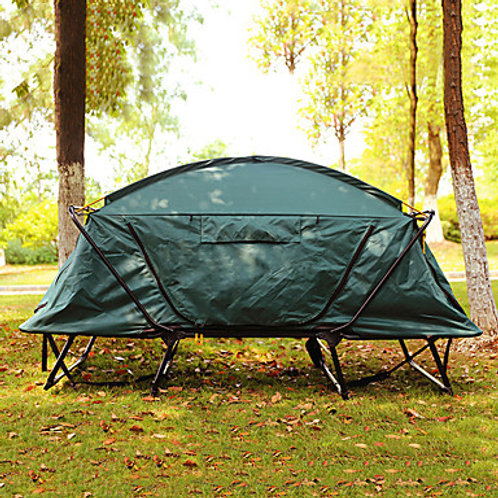 1 person Fishing Tent Outdoor Windproof Rain Waterproof Double Layered Poled Dom