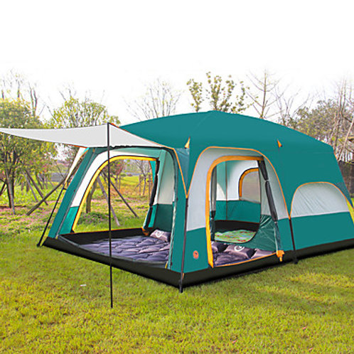 Shamocamel® 8 person Family Tent Outdoor Waterproof, Well-ventilated, Breathabil