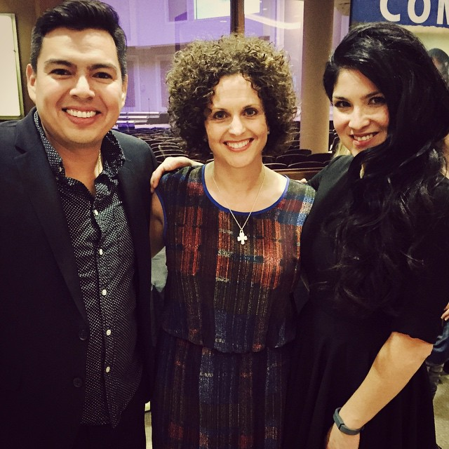 Got to hang out with two fantastic new friends, Jaci Valasques and N