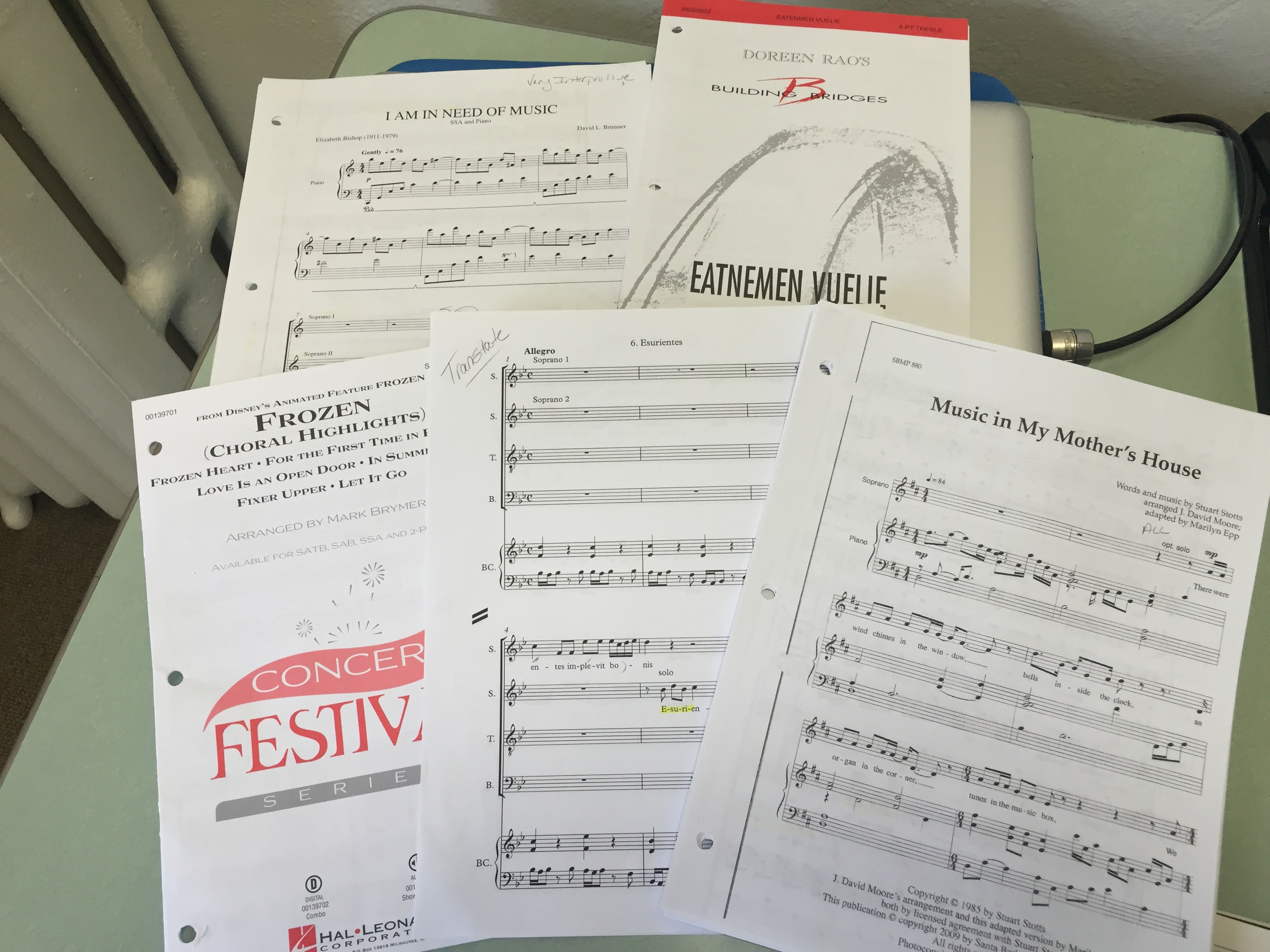 choral music to conduct