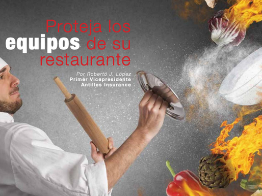 Proteja los equipos de su restaurante