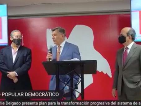 CHARLIE DELGADO PROPONE UNA TRANSFORMACIÓN DEL SISTEMA DE SALUD