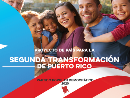 PROGRAMA DE PAÍS PARA LA SEGUNDA TRANSFORMACIÓN DE PUERTO RICO