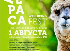 ФЕСТИВАЛЬ Alpaca Wellbeing Fest🔥🔥🔥