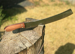 Как вам такой нож? Одно загляденье…😊