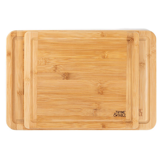 Bamboo Cutting Boards 2PK