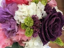 ramo de novia liofilizado hortensia y ro