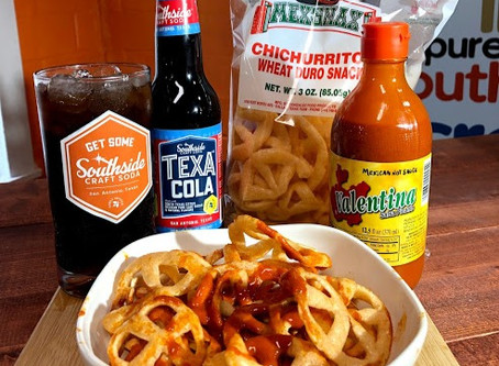 Tasty TexaCola Tuesday: Chichurritos con Valentina