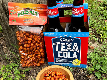 Tasty TexaCola Tuesday: MexSnax Chickpeas
