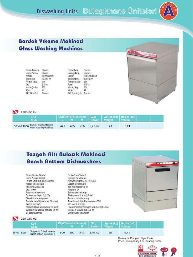 500 Tabak Bulaşık Makinesi