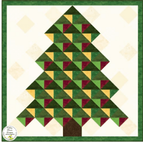 A Quilted Christmas Pattern
