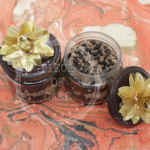 Choco Chip Jar Cake (Set of 2)