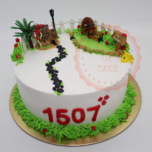 Designer Cake - Apartment Booking Special