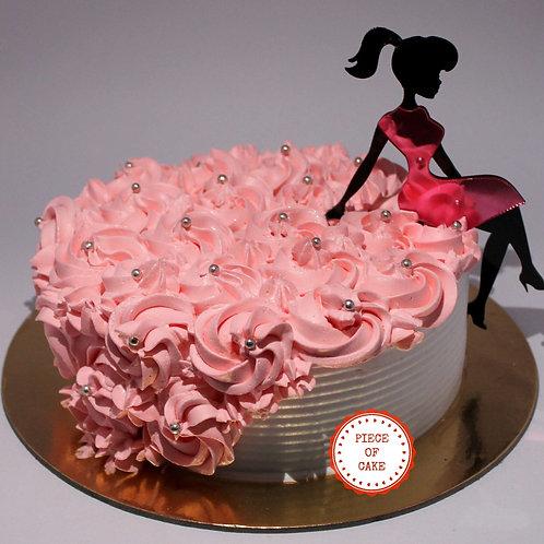 Crush Strawberry Cake