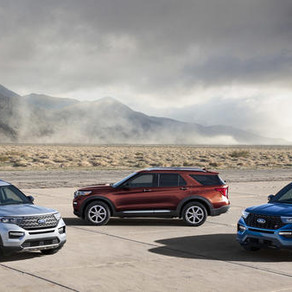 Ford launches rear-wheel-drive 2020 Explorer with Hybrid and Sport variants