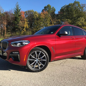 2019 BMW X4: Like the X3 except it looks worse and costs more