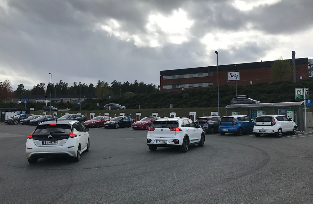 EVs charge up in Norway's Telemarksporten
