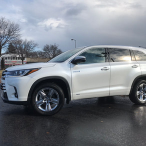 2019 Toyota Highlander Hybrid review