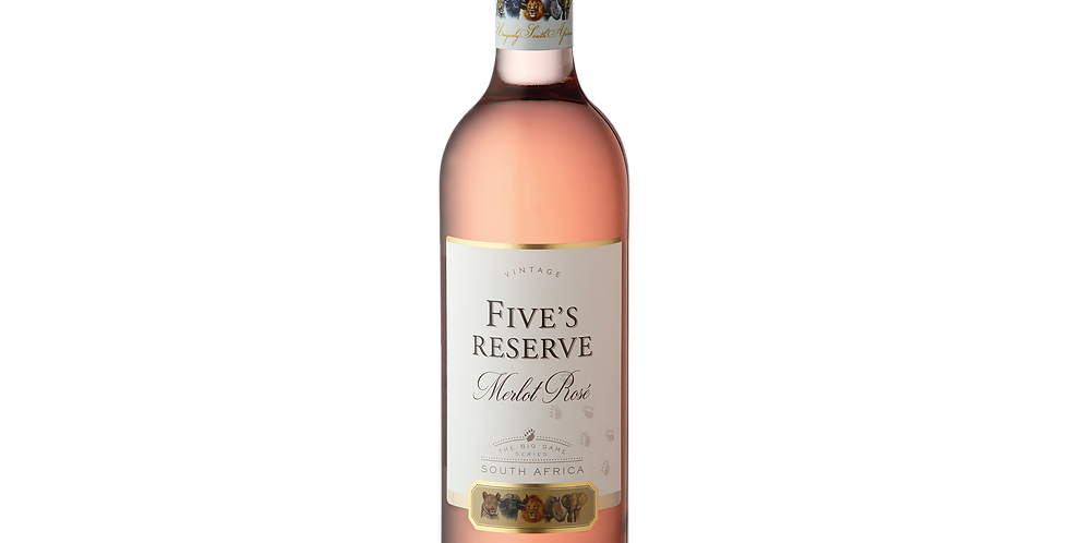 Five's Reserve Merlot Rosé