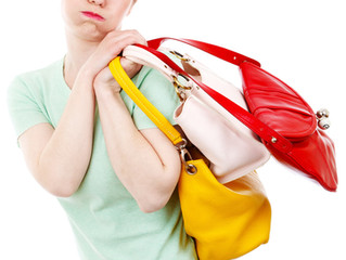 Lighten Your Load! Is Your Purse  Too Heavy?