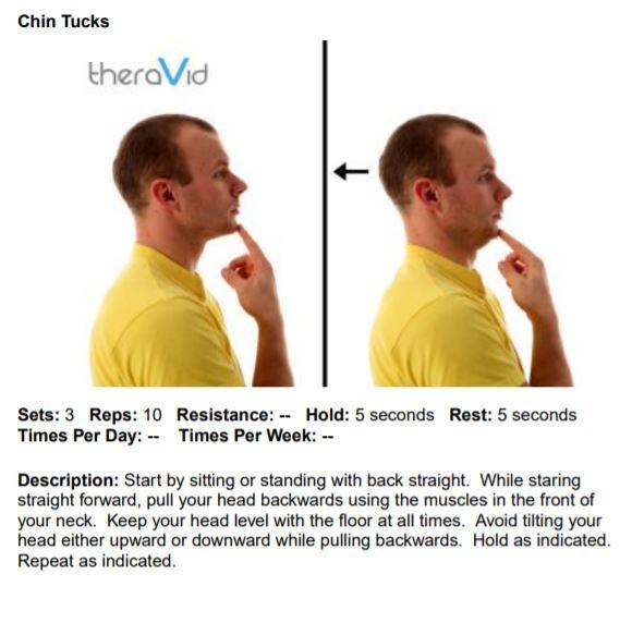Chin Tucks