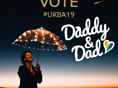 Vote for Daddy & Dad | UK Blog Awards 2019