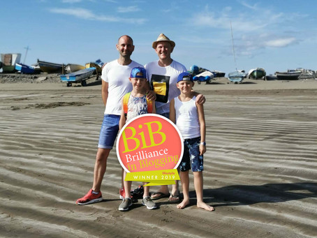Daddy & Dad crowned the BritMums Lifestyle Blog of the Year!