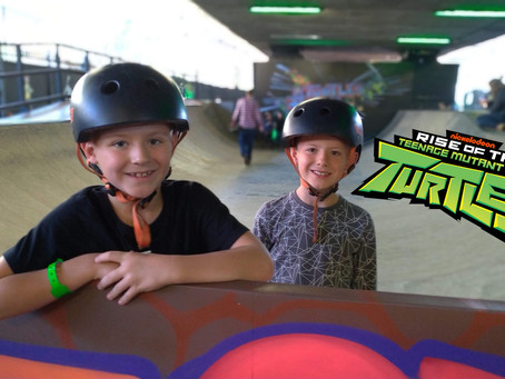 UK Launch of The Rise of The Teenage Mutant Ninja Turtles