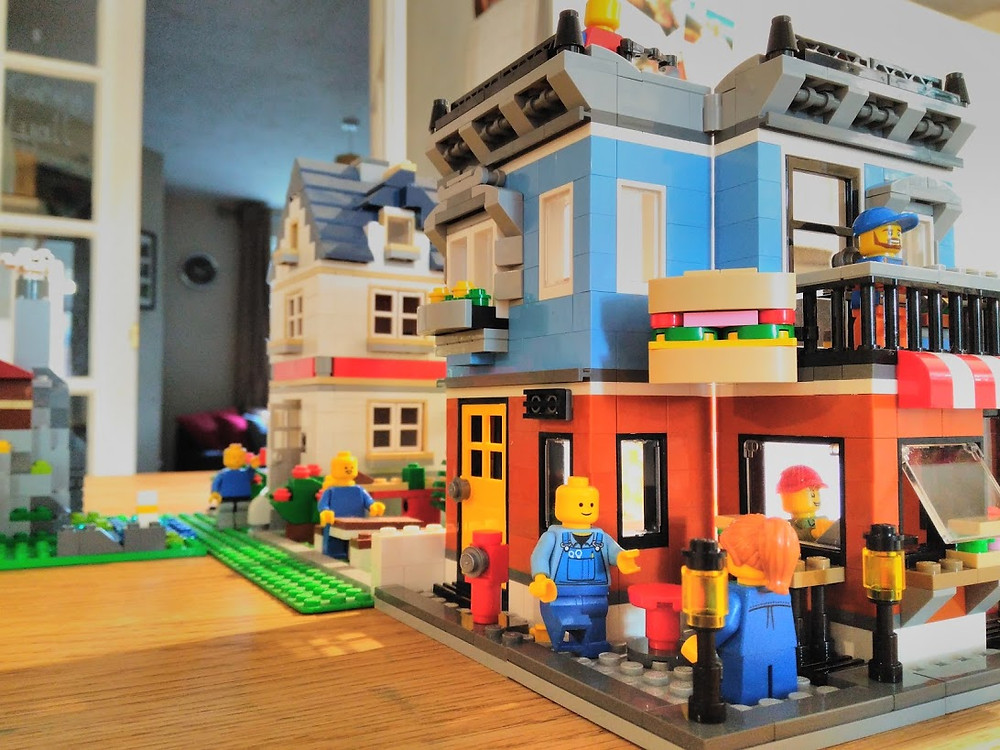 Daddy and Dad | Our latest LEGO creation