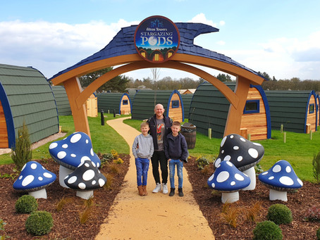 Stargazing Pods at Alton Towers Resort